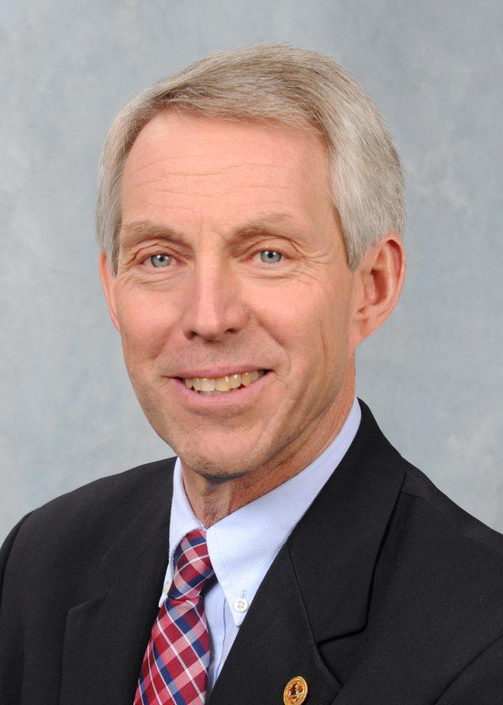 Illinois State Rep Brad Halbrook Headshot